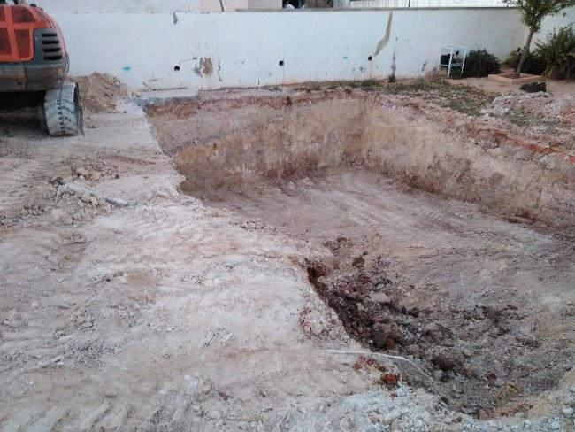 excavación piscinas Valencia