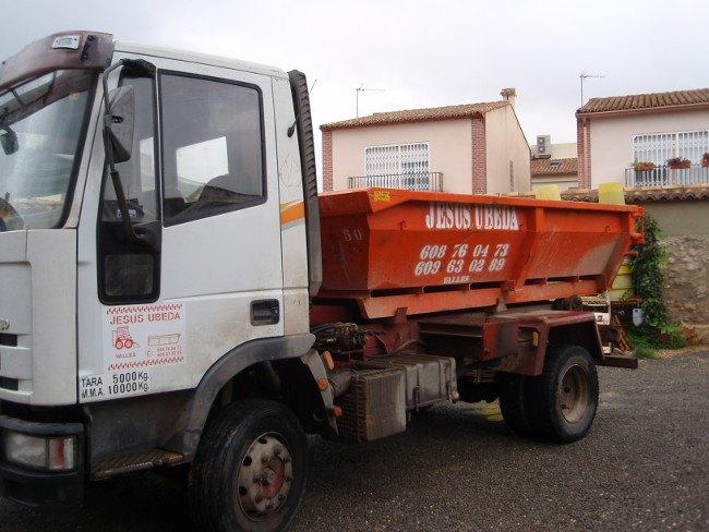 transporte de áridos Valencia