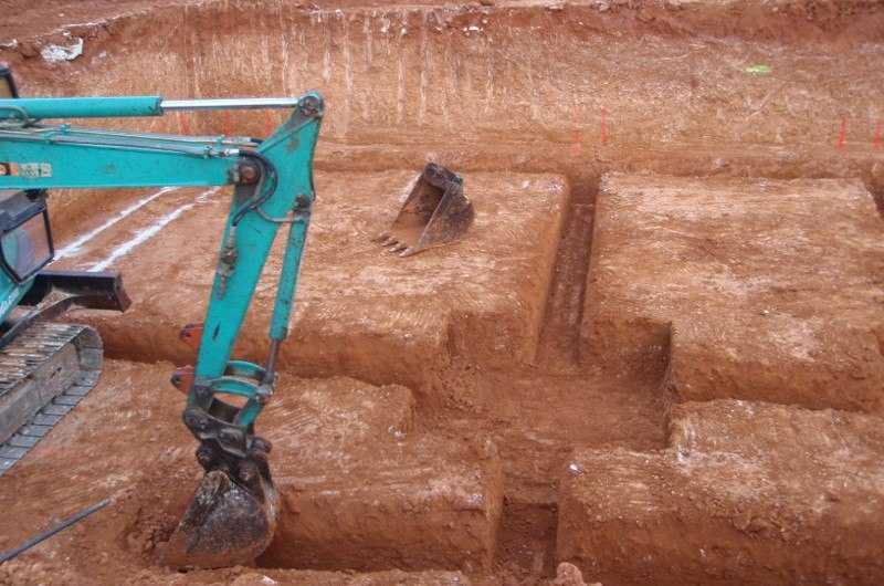 mini excavadora